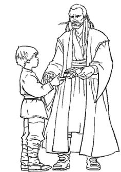Pictures Jinn And Luke Coloring Pages - Star Wars Coloring Pages : KidsDrawing – Free Coloring Pages Online