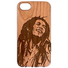 Bob Marley Engraved Carved Wooden Unique Case - iPhone  6 / 7 / 8 Plus