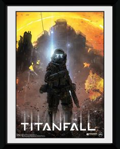 Titanfall - Pilot - Small Framed Collector Print