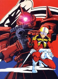 Char Aznable (シャア・アズナブル Shaa Azunaburu) known as The Red Comet. Char is a 20 year old Newtype from Side 3. He is Lieutenant Commander/Captain  (Principality of Zeon / Axis Zeon) he currently pilots the MS-06S Zaku II Commander Type.