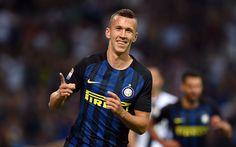 Download wallpapers Ivan Perisic, Croatian footballer, Internazionale, Serie A, Italy, Inter Milan, football