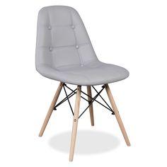 Cadeira WOODEN -Buttoned-