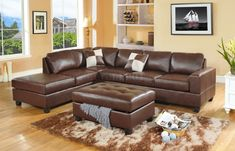 Dillon Bonded Leather Sofa