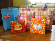 Empaques de regalo personalizados