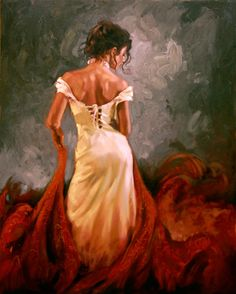 Women Paintings by Mark Spain - AmO Images - AmO Images