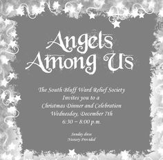 RS Christmas Party- Angels Among Us