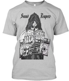 Sound Reaperz Light Steel T-Shirt Front