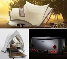 Modern Camping Car Design , if you are person who likes adventure and and likes to spend time in the mountains and beach, Maybe you need a car camping, but this is not an ordinary car, this camping car made with modern concept.