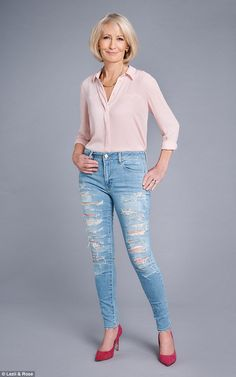 I¿m wearing the very latest fashion - a pair of very tight, very ripped jeans. I know my 15-year-old granddaughter Tallula would love them. I¿m not entirely sure her parents would even let her wear them