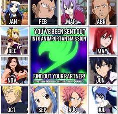 I got Gildarts! I got Natsu! Fairy Tail Meme, Fairy Tail Quotes, Anime Fairy Tail, Birthday Scenario Game, Birthday Games, All Out Anime, Fairy Tail Family, Anime Zodiac, Itachi