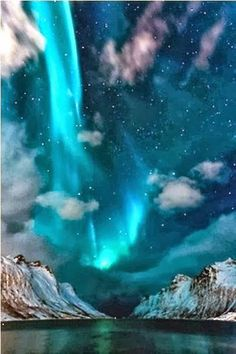 Northern lights in Iceland.  You might see a few of our Fin Fun Mermaidens here! Did you know that you can be a real mermaid too with FinFunMermaid.com