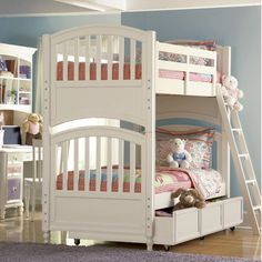 Build-A-Bear by Pulaski Pawsitively Yours Twin over Full Bunk Bed