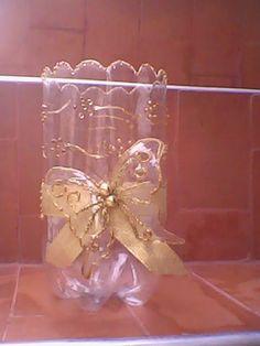 Set of 6 LED Plastic Bottle Flowers (one in each style) Plastic Bottle Flowers, Plastic Bottle Crafts, Recycle Plastic Bottles, Plastic Craft, Soda Bottle Crafts, Milk Jug Crafts, Acrylic Wine Glasses, Pet Bottle, Recycled Bottles