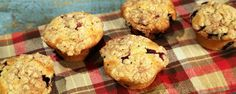 Carla's Blueberry Muffins taste so good, you won't even believe how many calories she saved! Homemade Blueberry Muffins, Blueberry Recipes, Sweet Breakfast, Breakfast Muffins, Breakfast Recipes, The Chew Show, Carla Hall, Muffin Tin Recipes, Bread Recipes