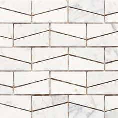 Check out this Daltile product: Stone a' la Mod Wedge Polished Contempo White - available at Ed Selden Carpet One in Lakewood Wa. Stone Mosaic, Stone Tiles, Mosaic Tiles, Marble Mosaic, Tiling, Floor Patterns, Wall Patterns, Textures Patterns, Quilt Patterns