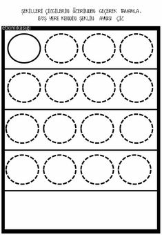 Tracing Shapes, Shapes Worksheets, Teaching Kindergarten, Elements Of Art, Math Games, Pre School, Fine Motor, Special Education, Activities For Kids