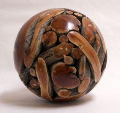 Beautiful wood ball