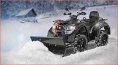 Winteraktion: Kymco MXU 700EXi EPS LoF mit Schneeräumschild