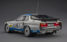 For the serious Porsche enthusiast, we offer the 924 Carrera GTR, winner of the GTO class at the 1982 24 Hours of Le Mans. 1:18-scale resin model by TSM, now available at Model Citizen.