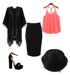 """Untitled #32"" by l00pyl0llypop on Polyvore featuring Boohoo, Sans Souci, Givenchy and Phase Eight"