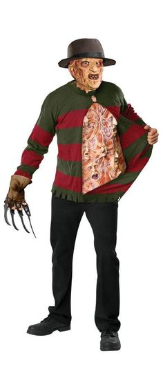 CLEARANCE Freddy Krueger Chest of Souls Costume
