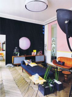 eclectic living room http://decdesignecasa.blogspot.it
