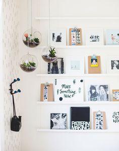 Fotografias na decoração