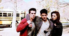 Felix, Sionn, and Skye