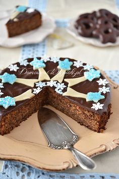 Spice cake with gingerbread Spice Cake, Gingerbread, Cheesecake, Spices, Baking, Christmas, Cook, Cakes, Recipes