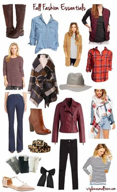 Fall Fashion Essentials - Style in a Small Town