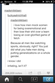 And when the tables were turned. | 19 Times Feminists Were The Funniest People On Tumblr