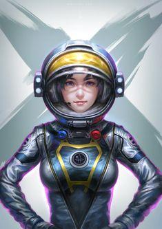 astronaut man alien girl - photo #14