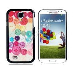 Carcasa divertida diseño botones para Galaxy S4