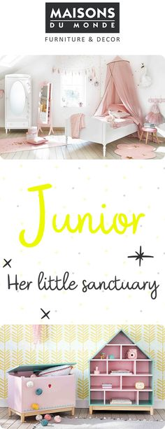 Junior Collection | Child beds, cots, chairs and toys | Maisons du Monde