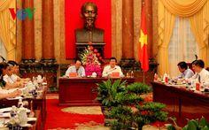 Chủ tịch nước làm việc với Liên đoàn Luật sư Việt Nam   Thời sự   BáoTinTức.vn   CHỦI TỊCH NƯỚC / LĐ LUẬT SƯ VN