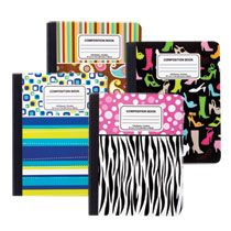 Trendy Composition Notebooks