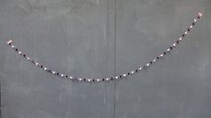 Triangle Bunting Bunting, Pearl Necklace, Triangle, Pearls, Diamond, Shopping, Jewelry, Drawing Rooms, String Of Pearls