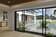 Gardner Homes and Darren Palmer - Discover Japandi – an interior design fusion between Japanese simplicity with Scandinavian style. Modern Entrance, Entrance Design, Small Beach Houses, House Design Pictures, Home Design Software, Kerala House Design, Simple House Design, Small Modern Home, Contemporary House Plans