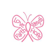 Cancer butterfly ribbon.                                                                                                                                                                                 More