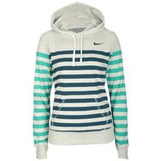 Nike Stripe Pullover Hoodie - Women's at Foot Locker
