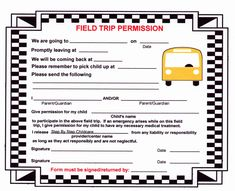 Field Trip Permission Slip form Elegant Sample Field Trip forms Diaper Invitation Template, Birthday Card Template, Field Trip Permission Slip, Excel Dashboard Templates, Middle School Counselor, Survey Template, List Of Jobs, Reference Letter, Letter Templates