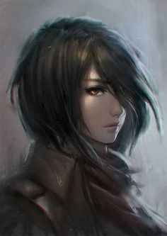 Mikasa Ackerman, one of the best female anime character. - Mikasa Ackerman, one of the best female anime character. Manga Anime, Anime Art, Sad Anime, Anime Demon, Kawaii Anime, Mikasa, Video Game Characters, Female Characters, Popular Anime Characters