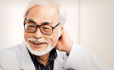 Hayao Miyazaki, creador de grandes pelis de animacion (anime) El Castillo Ambulante; El Viaje de Chihiro, Mi vecino Totoro... un grande!