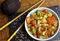 Asian Recipes, Healthy Recipes, Ethnic Recipes, Salmon Tartare, Good Food, Yummy Food, Ceviche, Japanese Food, Recipes