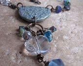 Romantic Blue Necklace