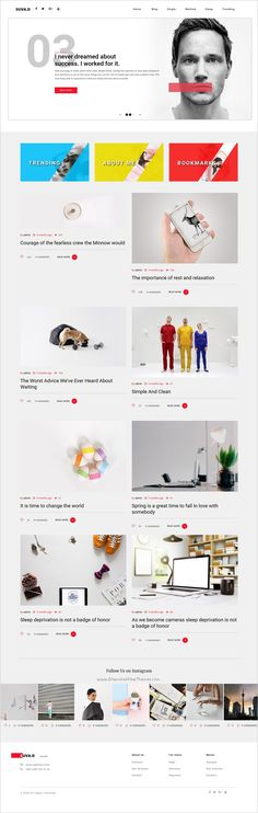 Suvad is a clean and modern design responsive #WordPress blog theme for creative #writer and #bloggers website download now➩  https://themeforest.net/item/suvad-personal-blog-wp-theme/17216288?ref=Datasata