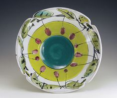 How to pointers on Majolica - low fire pottery glazing technique by expert Linda Arbuckle