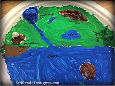 3rd Grade Thoughts: Wrapping Up Our Landforms Unit + A Writing Freebie