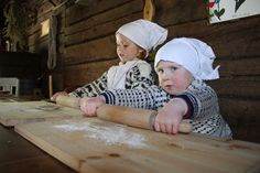 allthingsfinnish:    Time to start rolling out the doughphoto credit: Fiskars museum Fiskars Finland