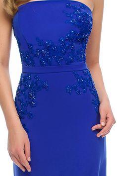 Electrifying beauty 💛 💙 💜 ORIANA evening dress by Athena Philip >>> www. Glamorous Evening Dresses, Luxury Dress, Glamour, Elegant, Formal Dresses, Color, Shopping, Beauty